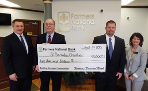 Farmers Bank and St. Barnabas