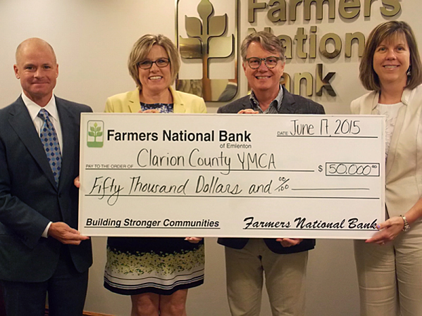 Farmers Bank Clarion County YMCA